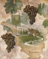 Toscana - Abbondanza Framed Print