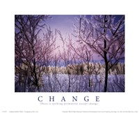Change - Snowy Trees Fine Art Print