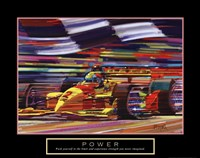 Power-Formula 1 Framed Print