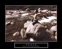 Peace - Yoga Fine Art Print