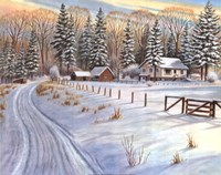 Winter Scene IV Fine Art Print
