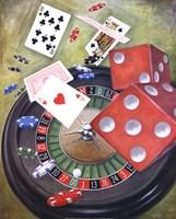 Roulette Fine Art Print