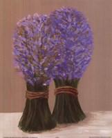 Purple Flowers In String Fine Art Print