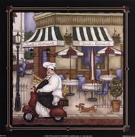 Dante's Ristorante Framed Print