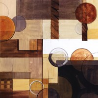 Abstract With Circles II Fine Art Print