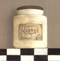 Coffee Jar Framed Print