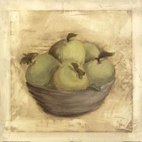 Bowl Of Apples Fine Art Print