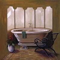 Corromandel Bath I Fine Art Print
