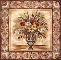 Floral Tapestry I Fine Art Print