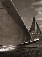 Sepia Sails I Fine Art Print