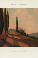 Tuscan Path I Fine Art Print