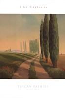 Tuscan Path III Fine Art Print