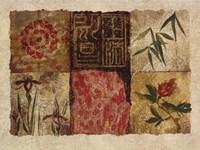 Oriental Medley II Fine Art Print