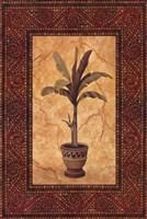 Palm Mosaic I Framed Print