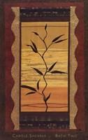 Batik Two Framed Print