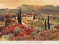 September In Tuscany II Fine Art Print