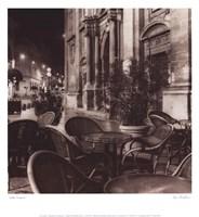Cafe Avignon Fine Art Print