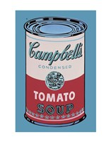 Campbell's Soup Can, 1965 (pink & red) Framed Print