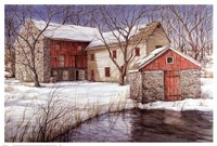 Old Spring House Fine Art Print