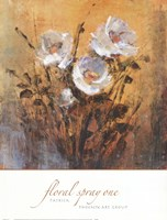 Floral Spray One Fine Art Print