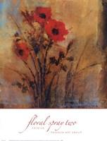 Floral Spray Two Fine Art Print