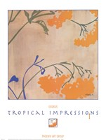 Tropical Impressions 1 Fine Art Print