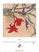 Tropical Impressions 2 Fine Art Print