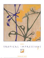 Tropical Impressions 3 Fine Art Print