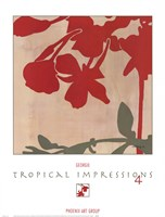 Tropical Impressions 4 Fine Art Print