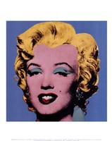 Shot Blue Marilyn, 1964 Framed Print