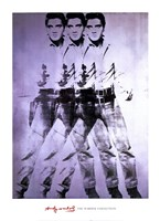 Elvis, 1963 (triple Elvis) Fine Art Print