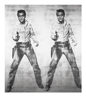 Elvis, 1963 (double Elvis) Fine Art Print