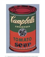 Campbell's Soup Can, 1965 (green & red) Framed Print