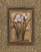 Peaceful Flowers I - Mini Framed Print