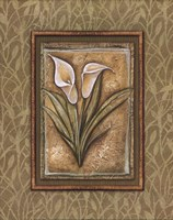 Peaceful Flowers IV - Mini Framed Print