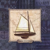 Sailing I Fine Art Print