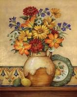 Salsa Lilies Fine Art Print