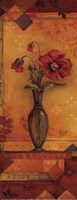 Bud Vase I - Petite Framed Print