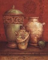 Tuscan Urns I - Mini Fine Art Print