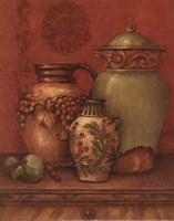 Tuscan Urns II - Petite Fine Art Print