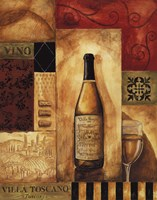 Villa Toscano - Petite Framed Print