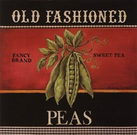 Old Fashioned Peas Fine Art Print