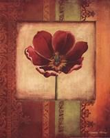 Mediterranean Floral I - Special Fine Art Print