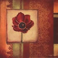 Mediterranean Floral II - Mini Framed Print