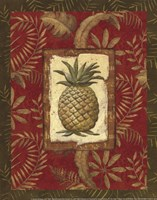 Exotica Pineapple - Mini Framed Print