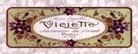 Violette - Grande Framed Print