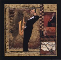 Jazz Sax - Petite Fine Art Print