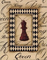 Chess Queen - Mini Framed Print