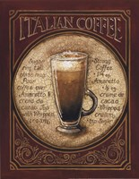 Italian Coffee - Mini Framed Print