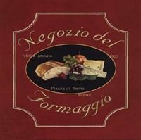 Negozio Del Formaggio - Special Framed Print